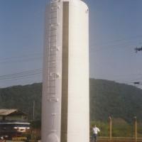 Tanque de fibra de vidro de 100m³.