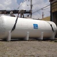 Tanque de fibra de vidro - PRFV - capacidade 40m³.